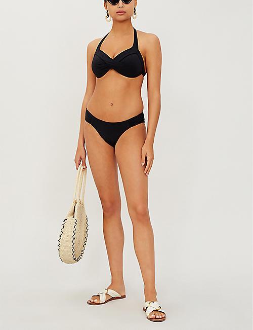 28ac7d384e7 JETS BY JESSIKA ALLEN Jetset gathered side bikini bottoms