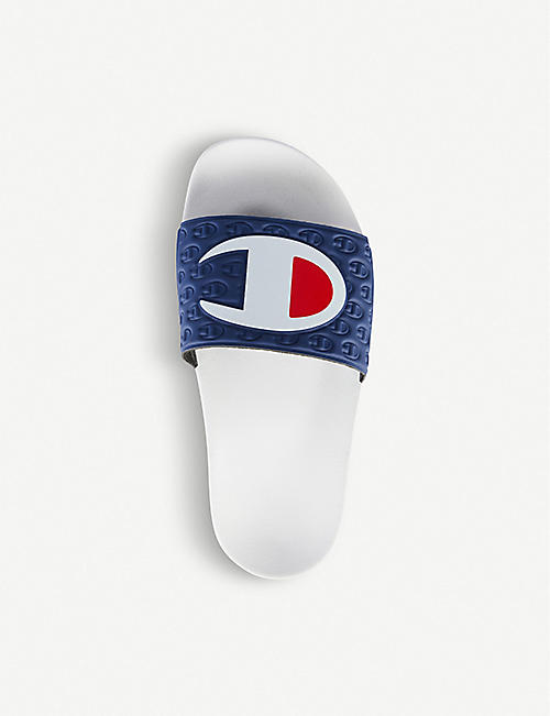CHAMPION Logo print pool slides