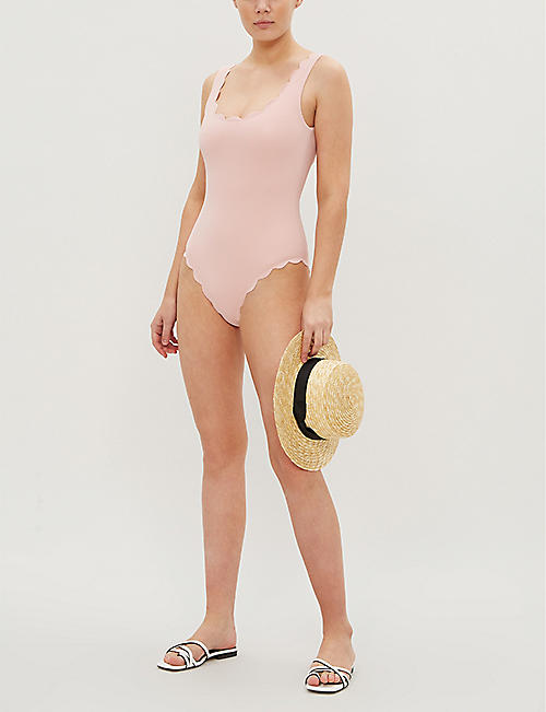 MARYSIA Palm Springs round-neck swimsuit