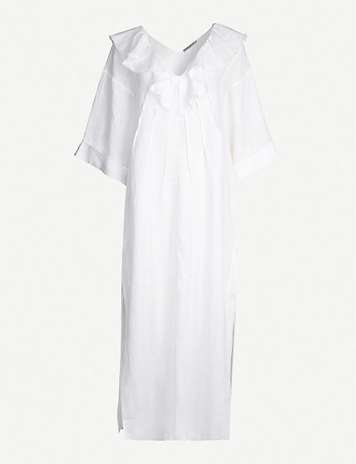 THREE GRACES LONDON Inez linen dress