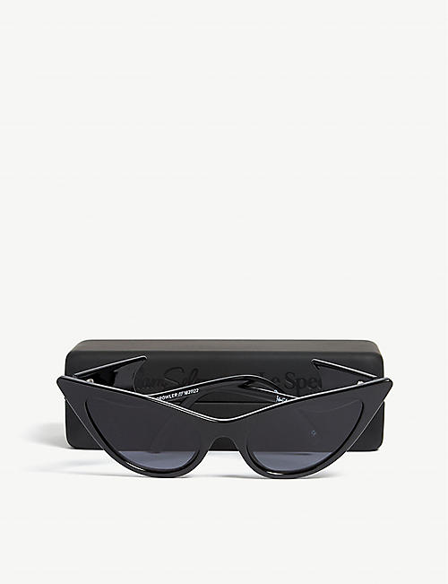 LE SPECS The Prowler cat-eye-frame sunglasses