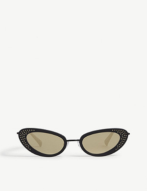 LE SPECS The Royale cat-eye-frame sunglasses