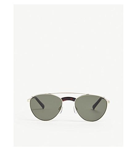 3ea5161d3a LE SPECS Rocket Man Edition aviator sunglasses (Bright+gold