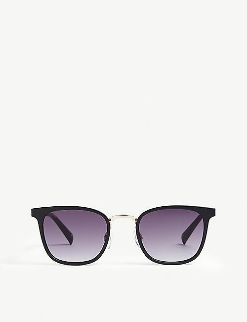 4cd50c9004 LE SPECS Racketeer square-frame sunglasses