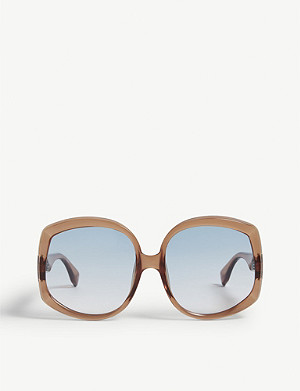 LE SPECS Illumination square-frame sunglasses