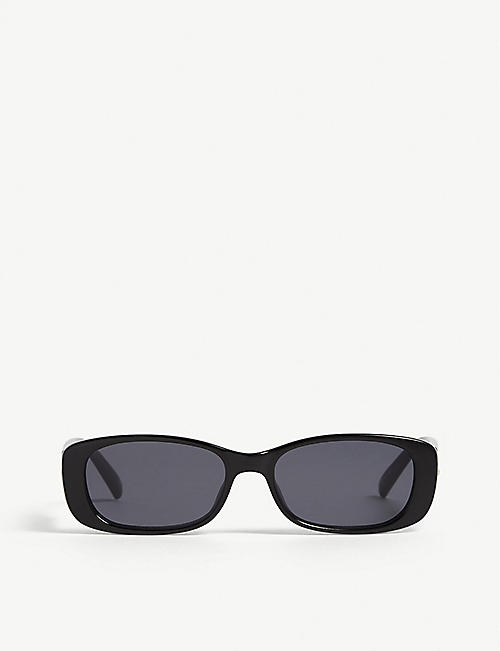 LE SPECS Unreal! rectangle-frame sunglasses