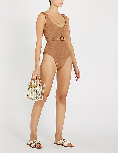 HUNZA G Solitaire swimsuit