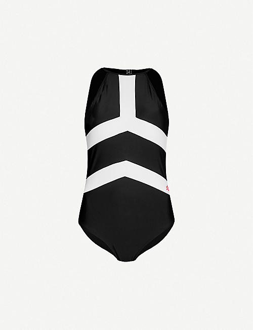 PERFECT MOMENT Nordic halterneck swimsuit