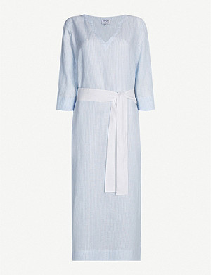 PDN LONDON Barbara linen dress