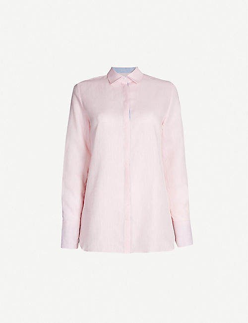 PDN LONDON Valentina linen shirt