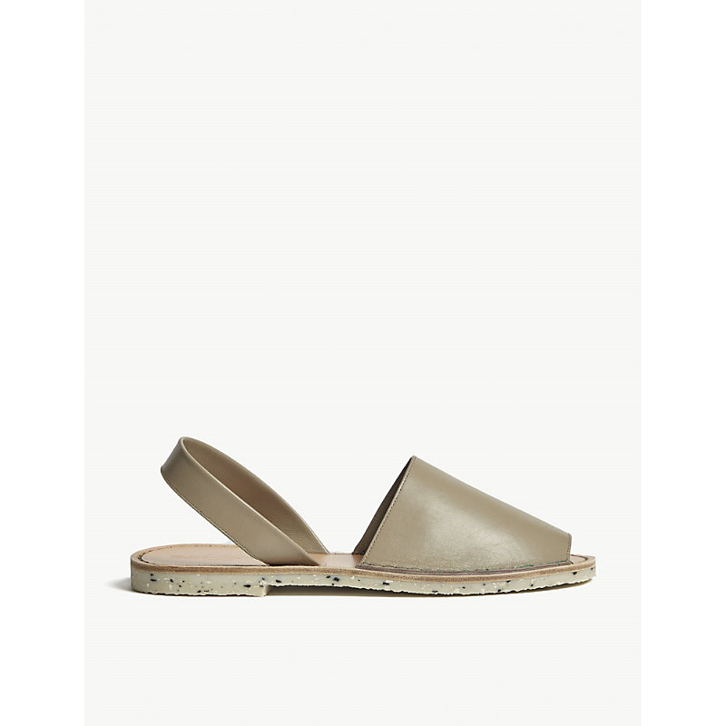 GOYA Leather Slingback Sandals in Montemar