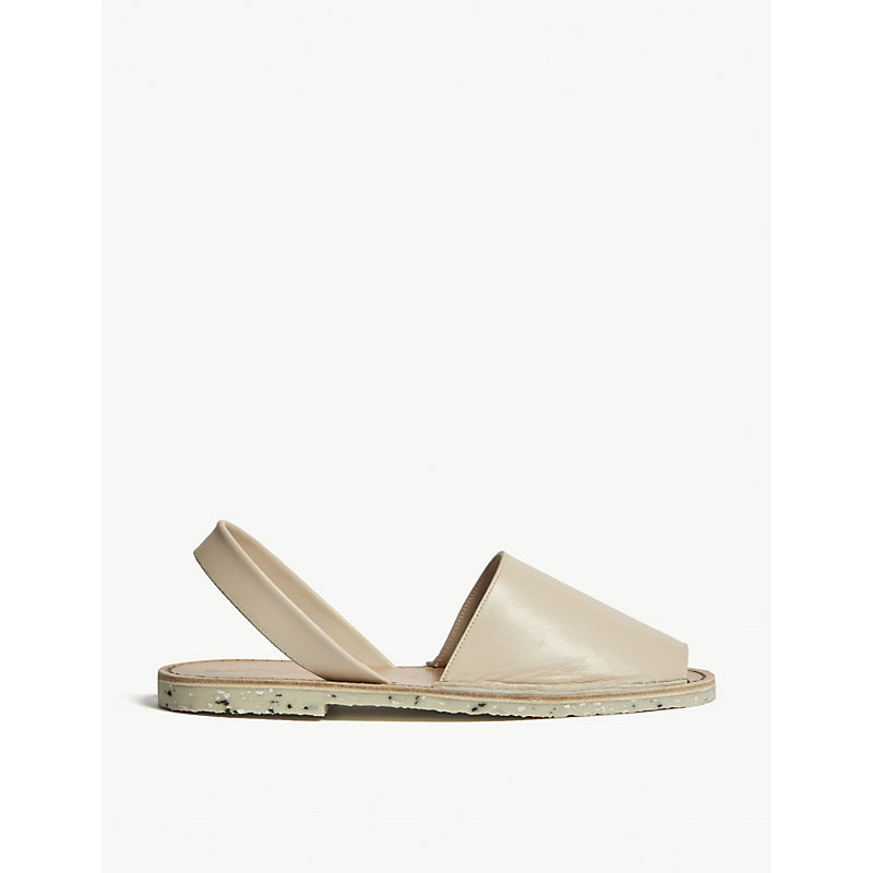 GOYA Leather Slingback Sandals in Illetes