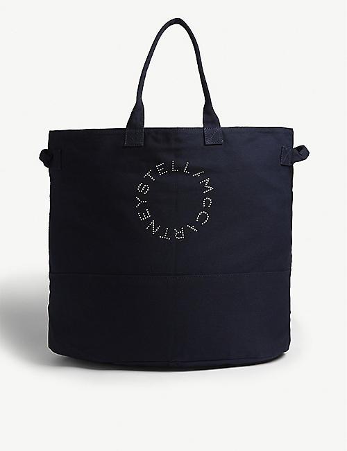 STELLA MCCARTNEY Cotton canvas tote bag. Quick view Wish list 34cc7f12be20f