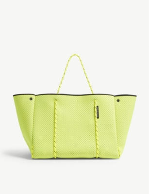 STATE OF ESCAPE Escape neon neoprene tote