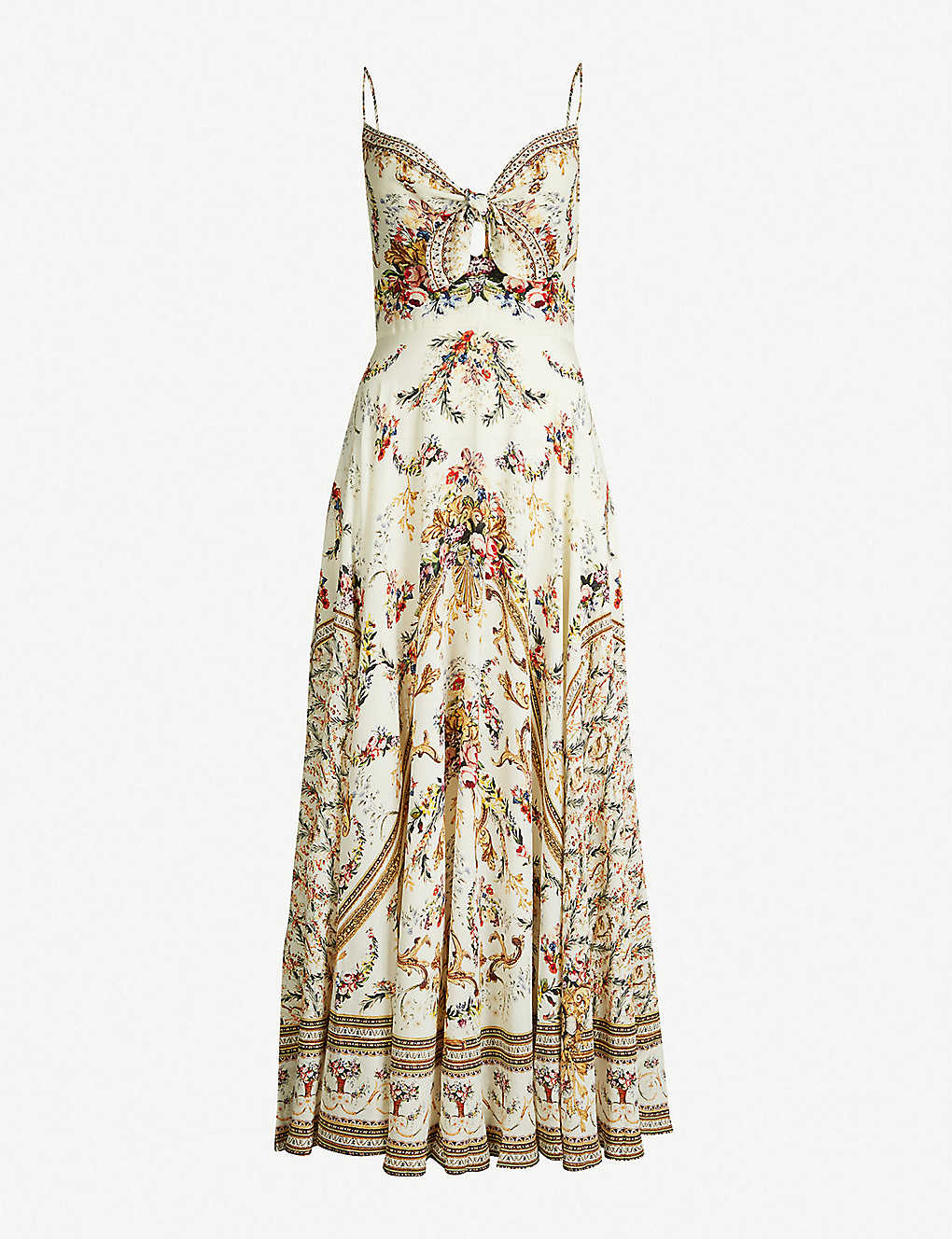 9ac2e41ee6a CAMILLA - Olympe Ode floral-print silk-crepe maxi dress