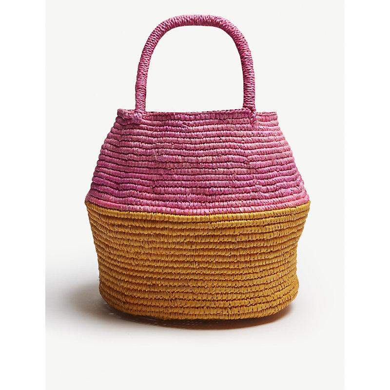 ARTESANO Pink Woven Mini Bag