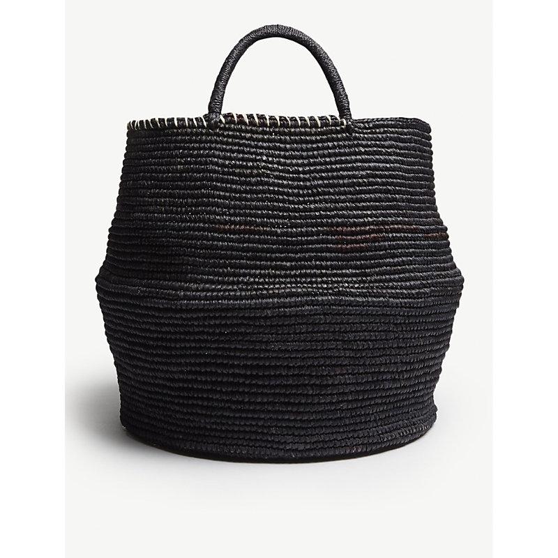 ARTESANO Black Woven Bag