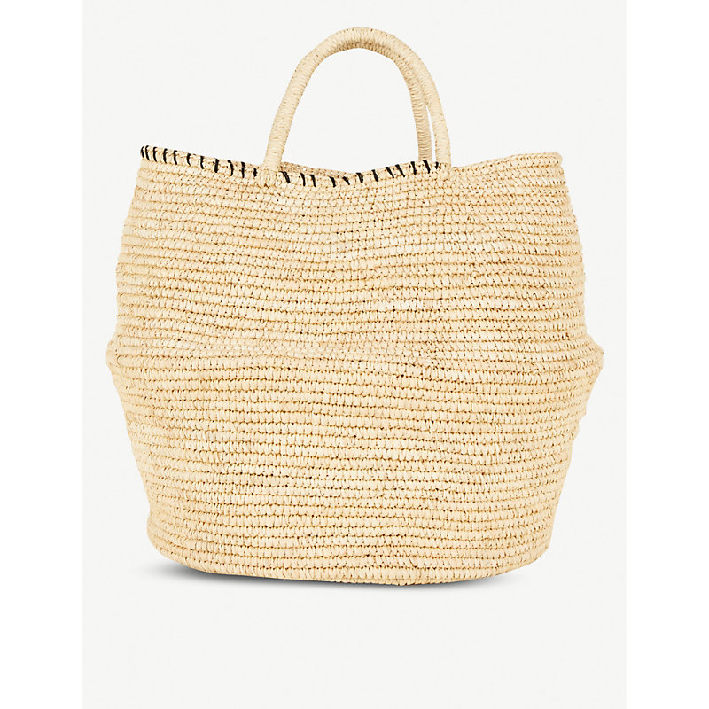 ARTESANO Large Woven Bag in Natural