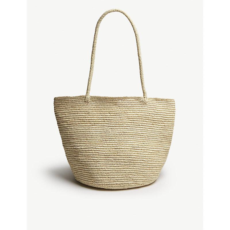 ARTESANO Sand Brown Woven Bag