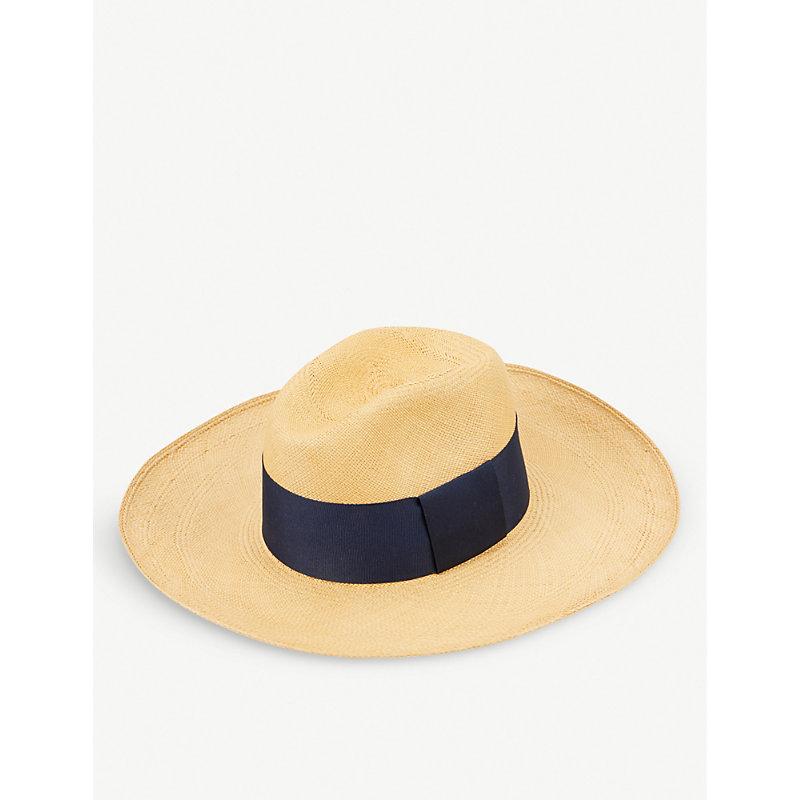 ARTESANO Madagascar Straw Panama Hat in Cinnamon