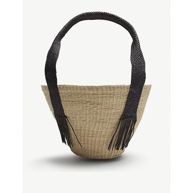 ARTESANO Natural Woven Handbag
