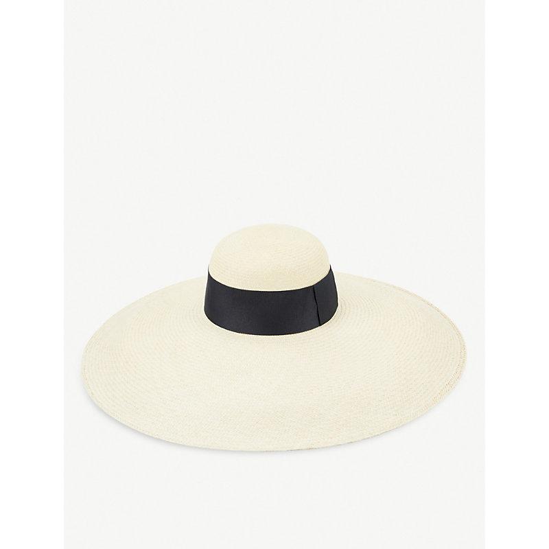 ARTESANO Sicilia Straw Panama Hat in Natural