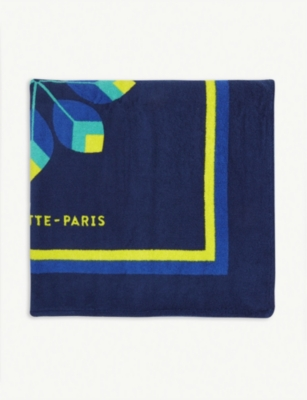 LA SERVIETTE PARIS Inca combed cotton towel