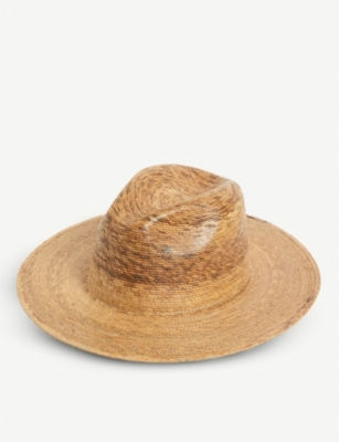 LACK OF COLOR Palma straw fedora