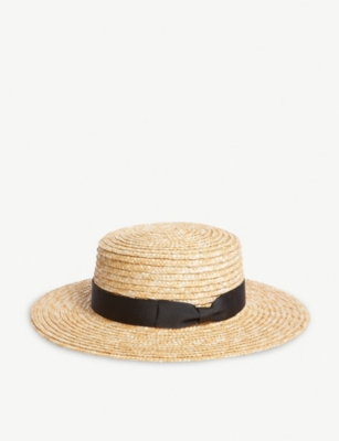 LACK OF COLOR Spencer straw hat