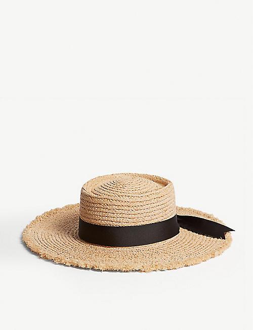 dc3cea7e3ef5 LACK OF COLOR The Ventura raffia straw hat