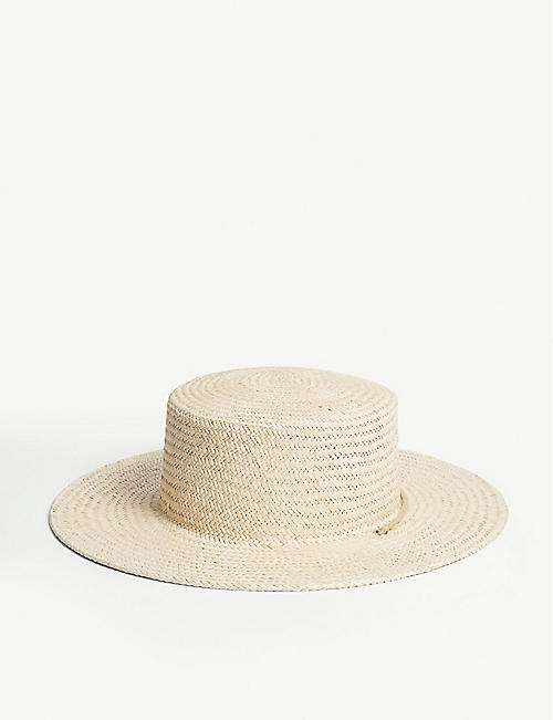 LACK OF COLOR Wanderer Boater hat