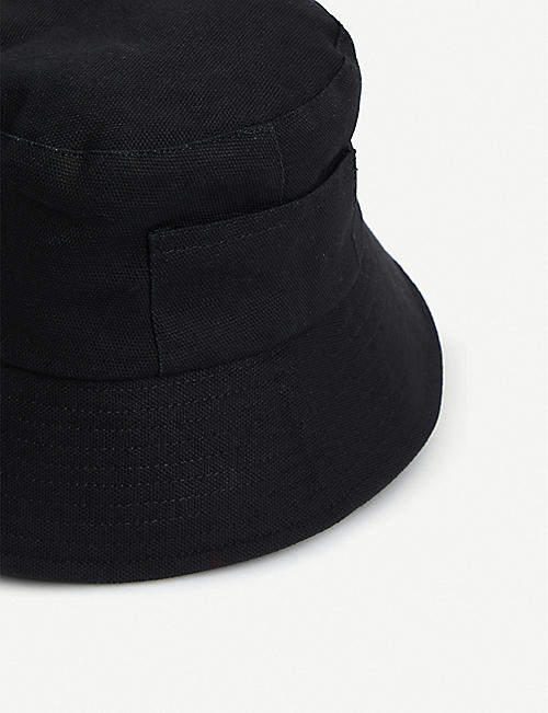 98d21221c9fec LACK OF COLOR Wave cotton-canvas bucket hat