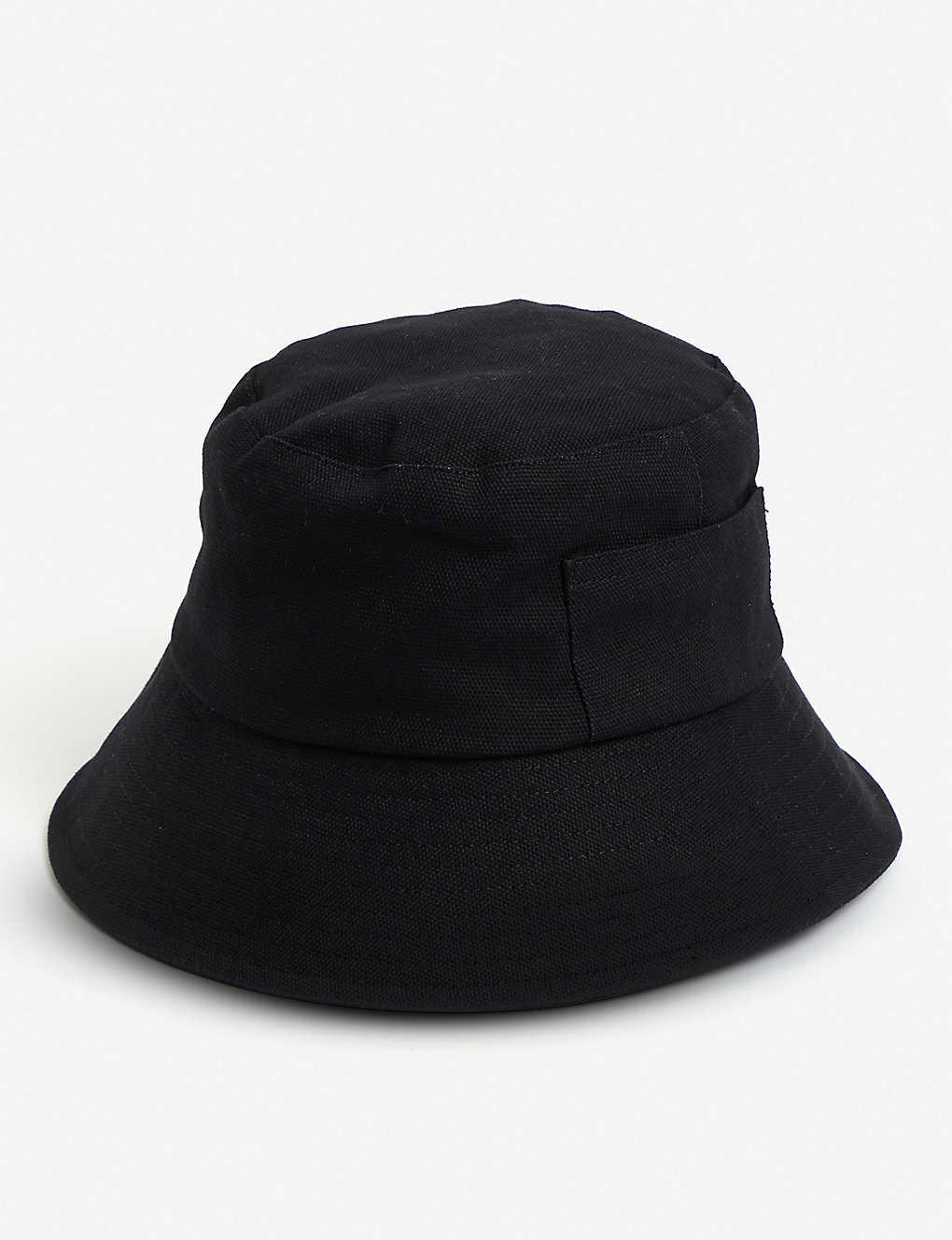 7c8262dfb6165 LACK OF COLOR - Wave cotton-canvas bucket hat
