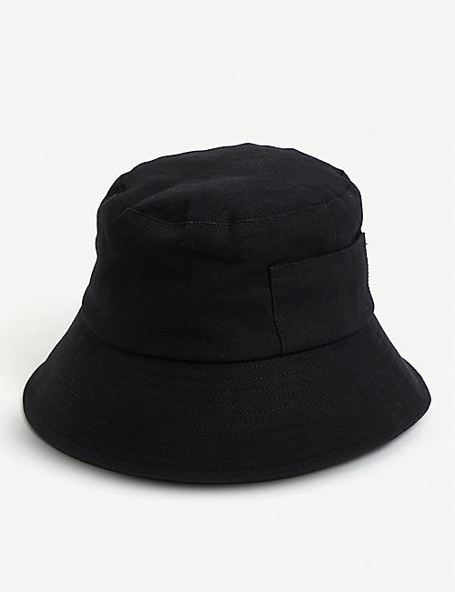 8fc99095e77a0 LACK OF COLOR Wave cotton-canvas bucket hat