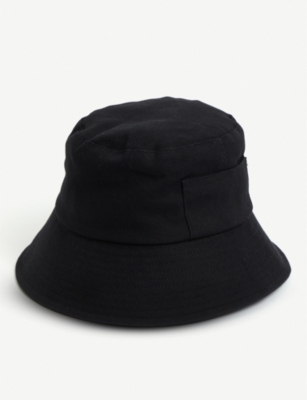 LACK OF COLOR Wave cotton-canvas bucket hat