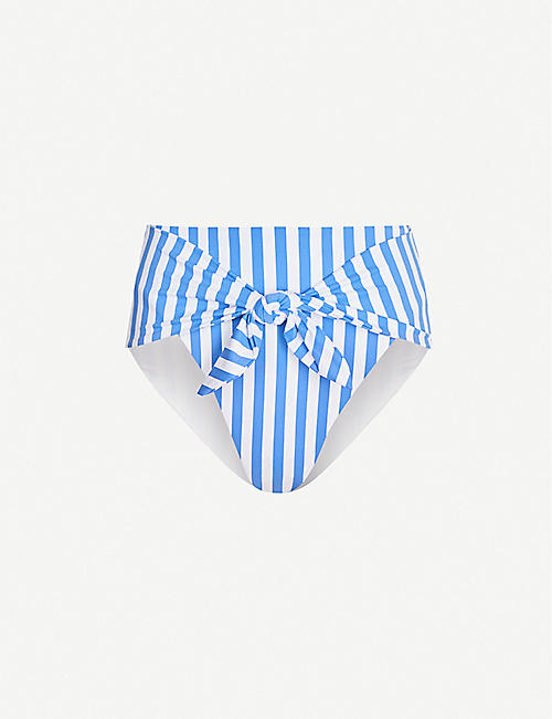 e872aba32047 ONIA X WEWOREWHAT Onia x WeWoreWhat Riviera high-rise bikini bottoms