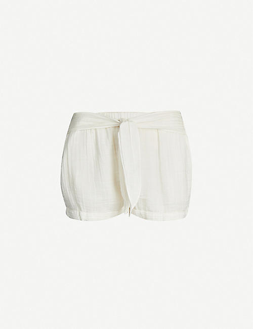 ANAAK Maithili cotton-muslin shorts