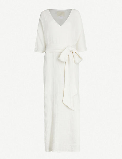 ANAAK: Kai cotton-muslin kaftan