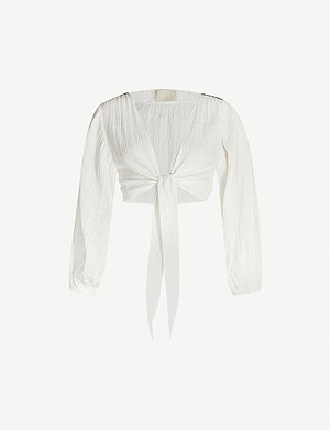 ANAAK Bianca cotton-muslin blouse