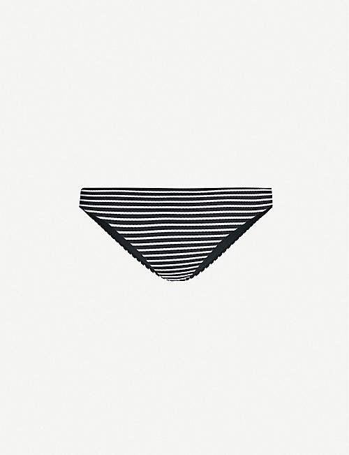 SEAFOLLY Go Overboard striped bikini bottoms