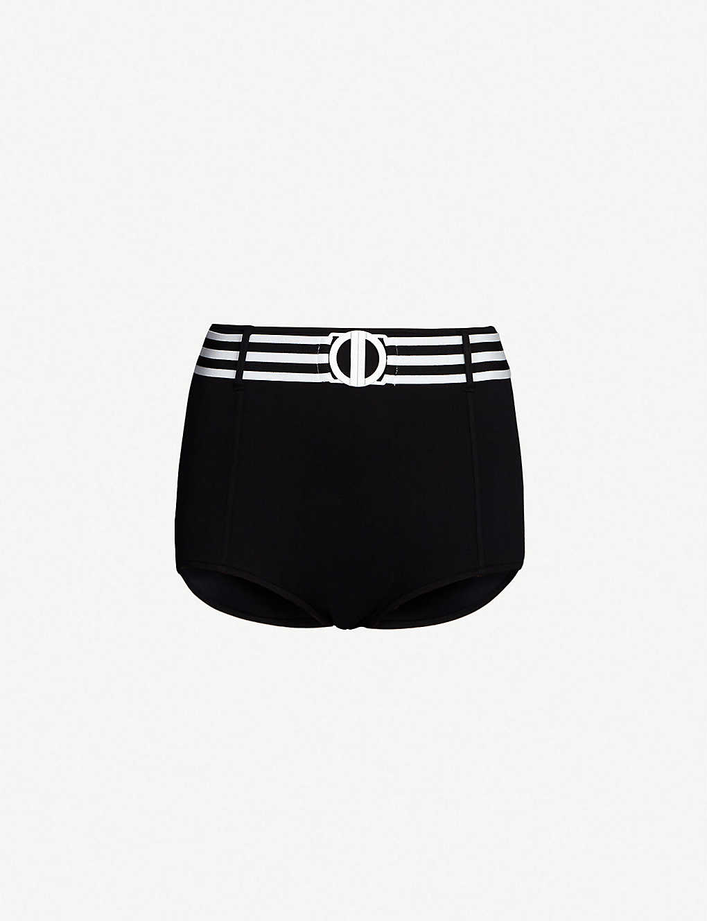 0d861911882 SEAFOLLY - Belted high-rise bikini bottoms | Selfridges.com