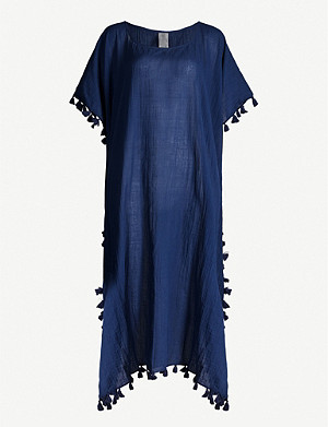 SEAFOLLY Amnesia cotton-gauze kaftan