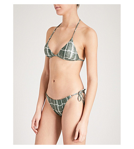 39158c2e88 VIX Tortuga T-back bikini top (Green