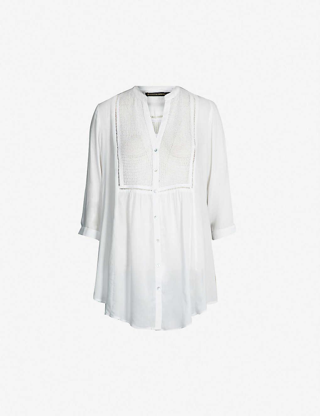 80567062bdf6f Oversized woven shirt zoom; Oversized woven shirt zoom ...