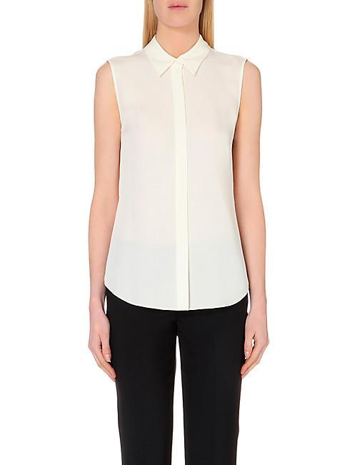 aa5d5ae7b3c THEORY - Tops - Clothing - Womens - Selfridges   Shop Online
