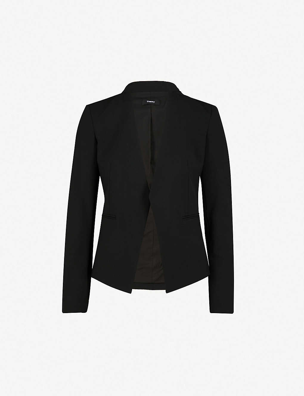 0487471958be THEORY - Lanai stretch-wool blazer | Selfridges.com