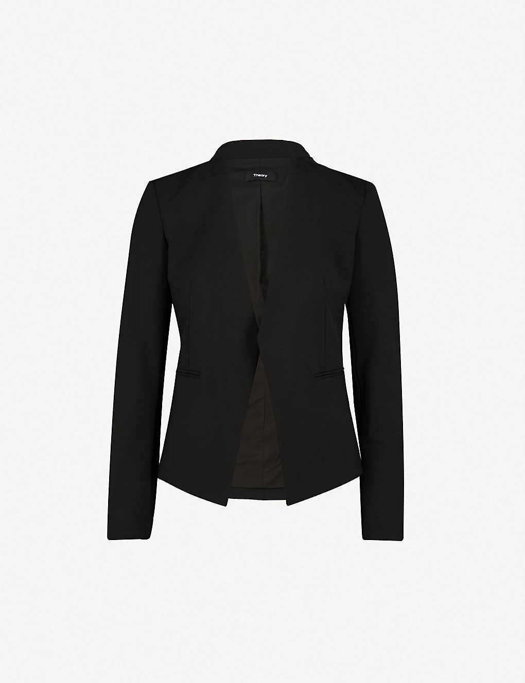b58512caa3 THEORY - Lanai stretch-wool blazer | Selfridges.com