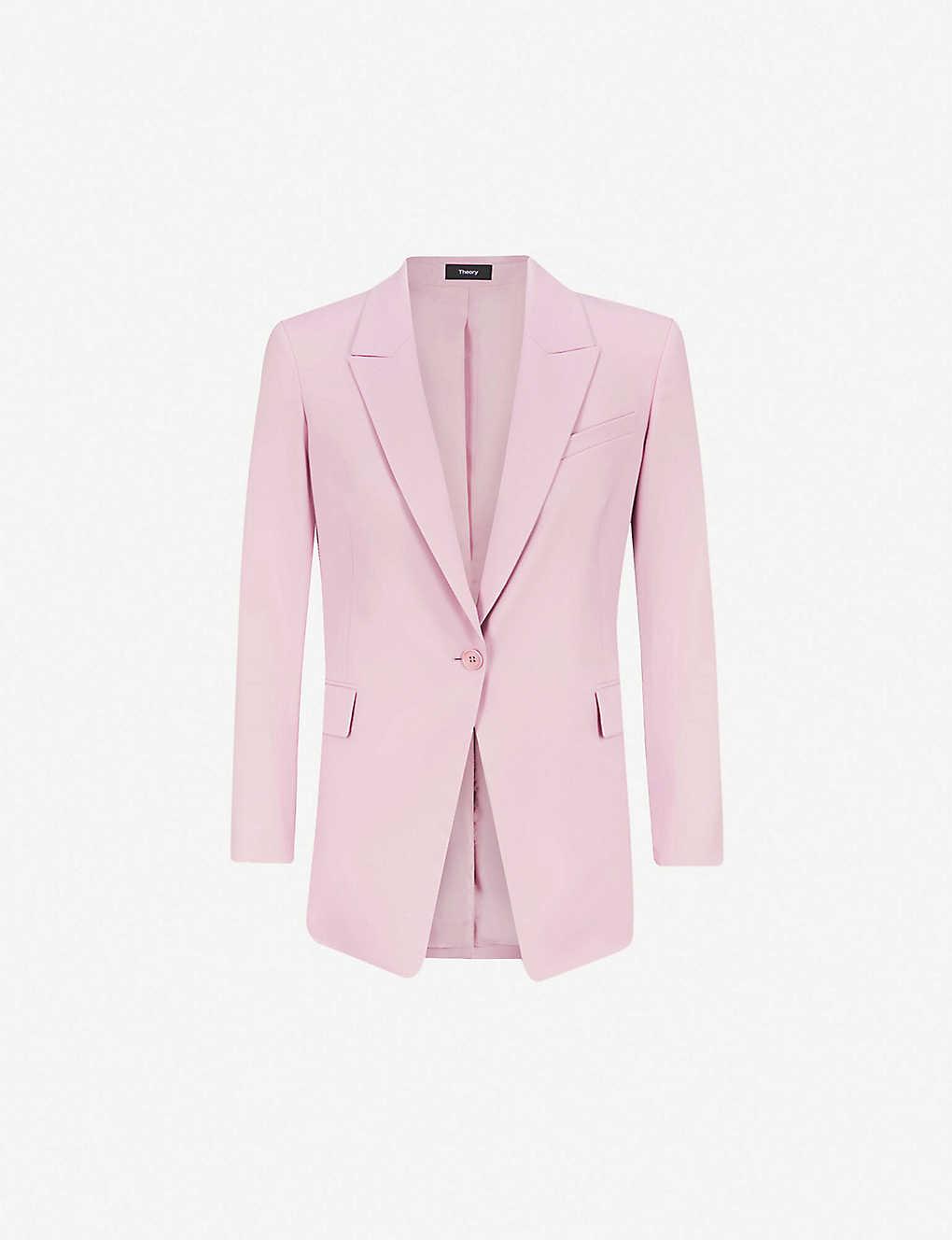 8d24618358 THEORY - Etiennette stretch-wool blazer | Selfridges.com