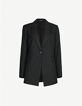THEORY: Etiennette stretch-wool blazer