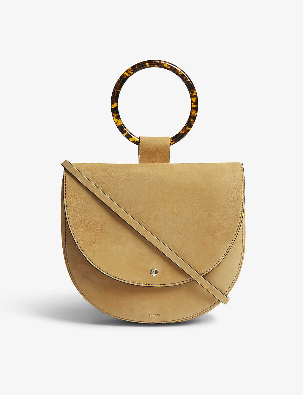 fe771dba911 THEORY - Whitney suede shoulder bag | Selfridges.com